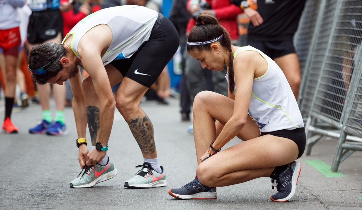Clásicas mentirijillas entre corredores