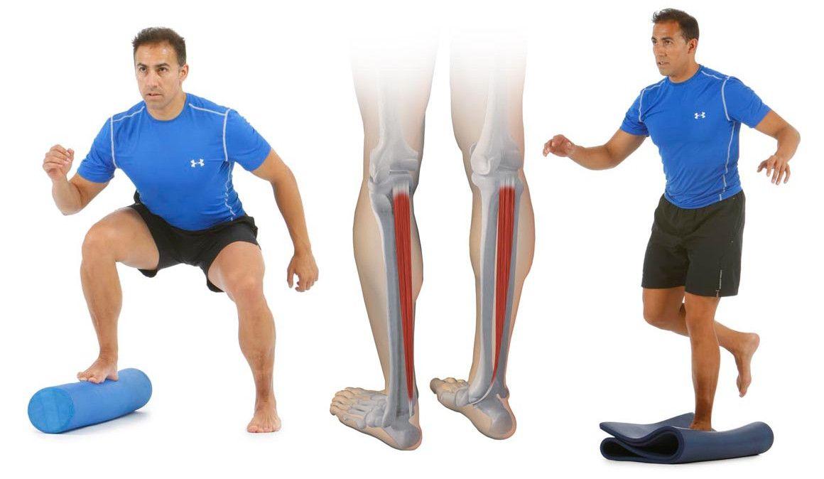 Arco plantar: reforzar el tibial posterior