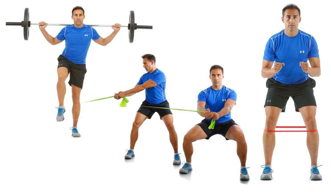 Ejercitar el glúteo medio de pie con uno o dos apoyos