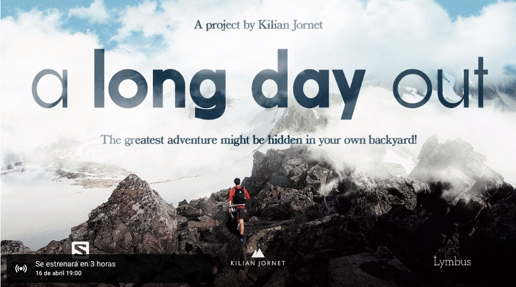 """A Long Day Out"", este es el nuevo video documental de Kilian Jornet"