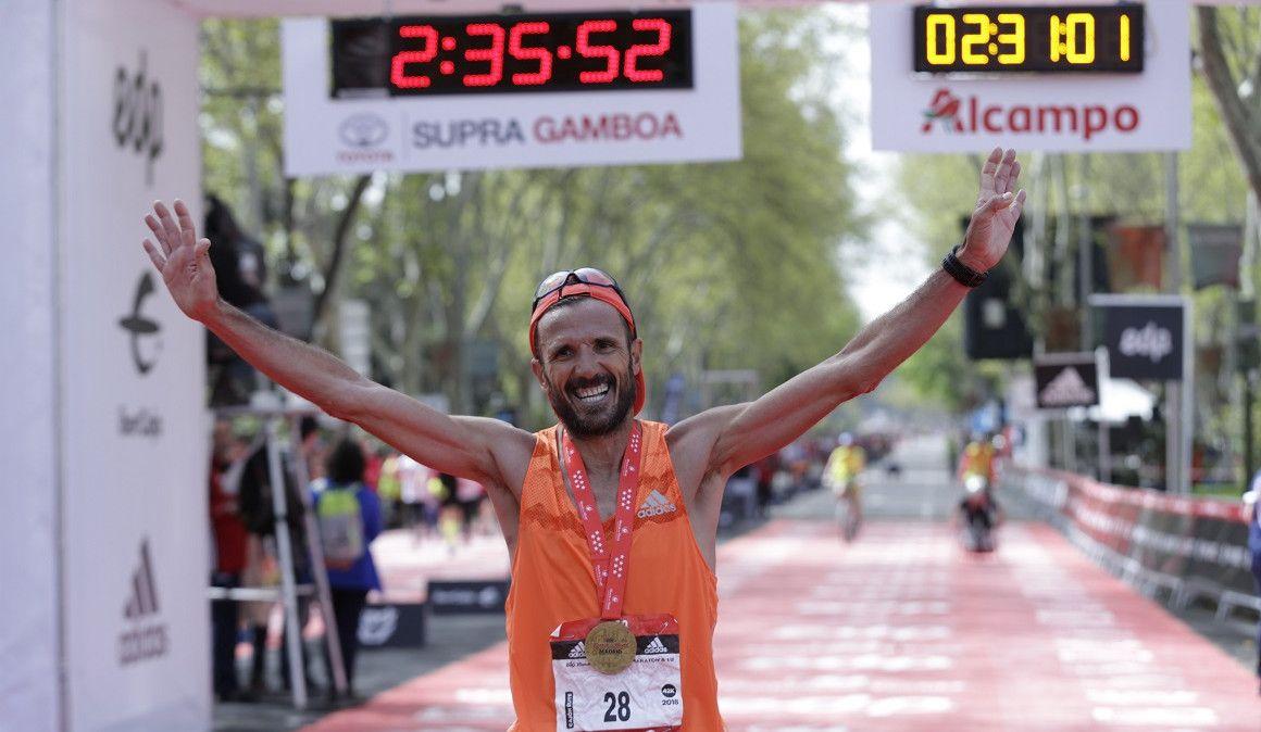 Chema Martínez saldrá último en el Maratón de Madrid para recaudar por cada corredor adelantado