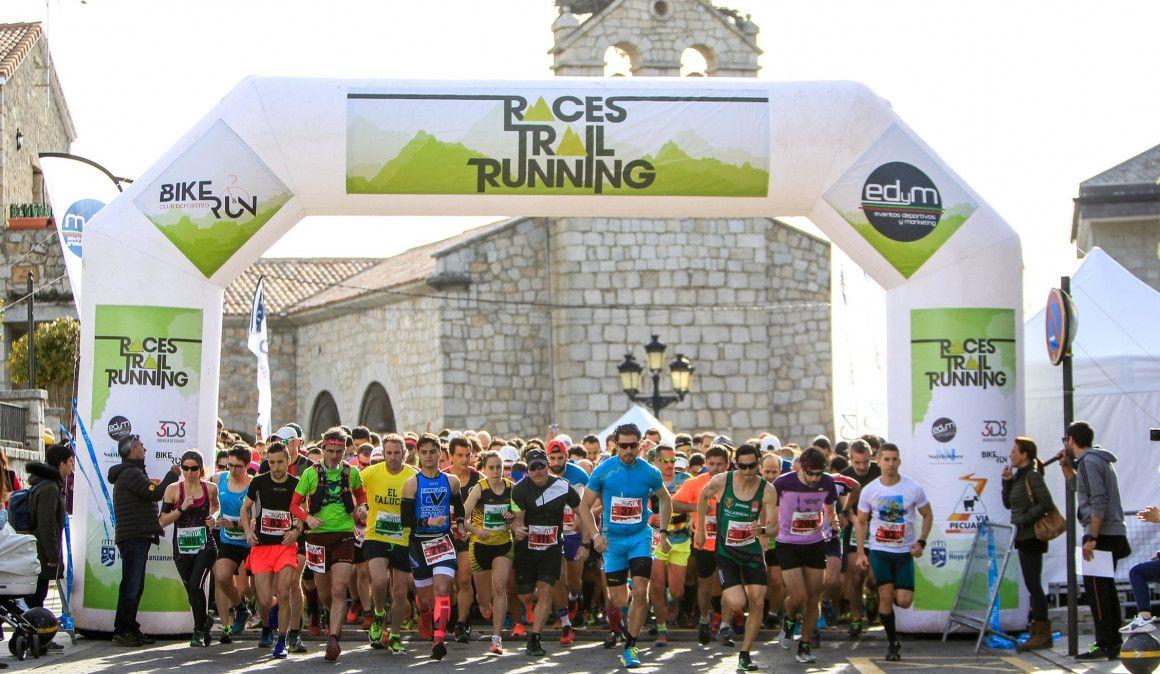 600 corredores disfrutan del mejor Trail en Hoyo de Manzanares