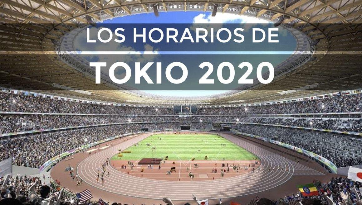 Horarios del atletismo en los Juegos Olímpicos de Tokio
