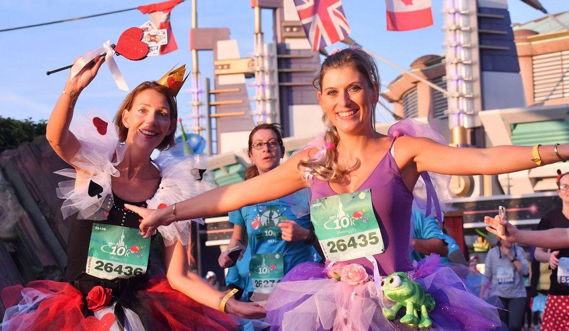 El Medio Maratón de Disneyland Paris