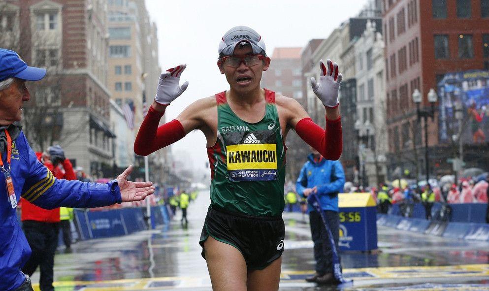 Mucho palmarés y el mal tiempo protagonizan el Maratón de Boston