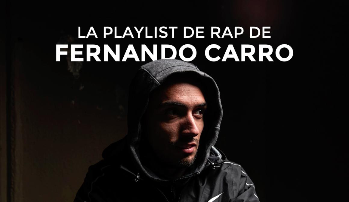 12 canciones de rap para correr por Fernando Carro