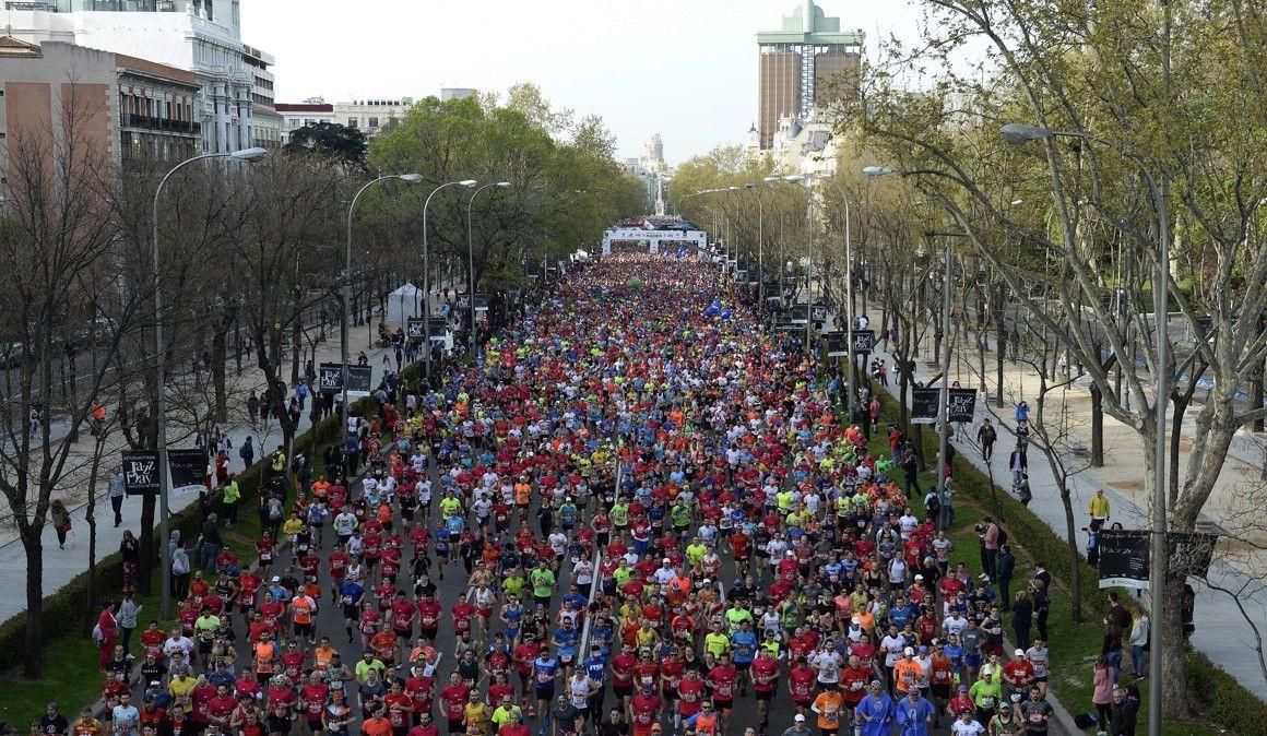Así se cortará la ciudad para el EDP RnR Madrid Maratón