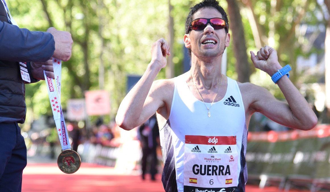 """Javi Guerra tras su 2:10:20 en Madrid: """"Para mí es como si hubiese ganado"""""""