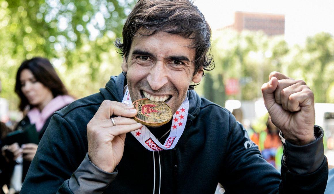 Raúl González Blanco, 2:59:25 en el Maratón de Madrid