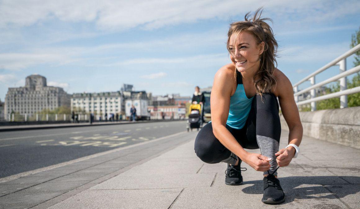 ¿Qué no debes hacer antes de correr?