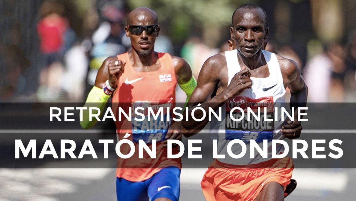 Sigue en directo el Maratón de Londres