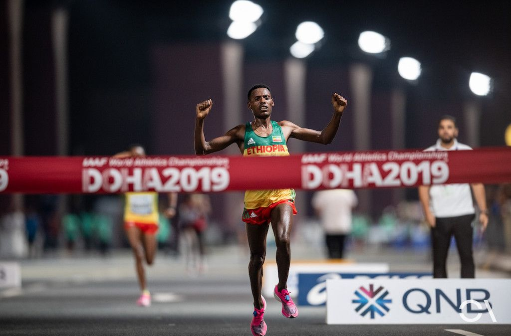 Nike Vaporfly y nuevas compañías para los mejores maratonianos en Doha