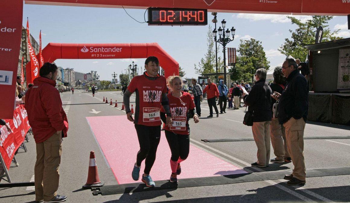 Todas las fotos del Medio Maratón de Santander