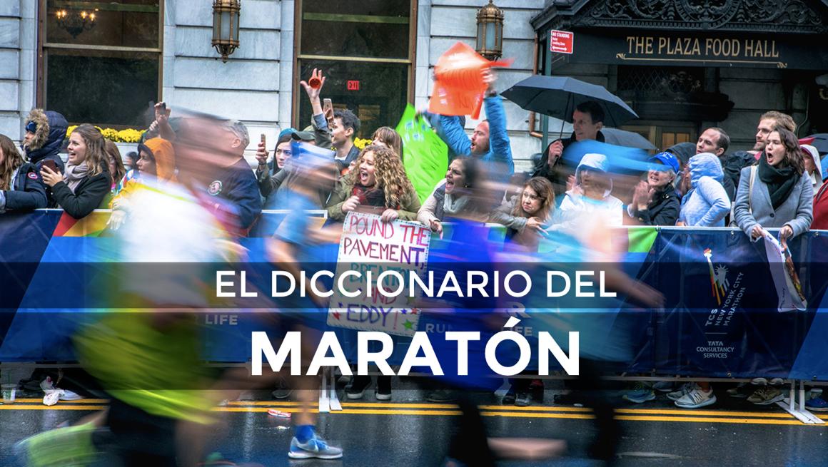 De la A a la Z, el diccionario del maratón