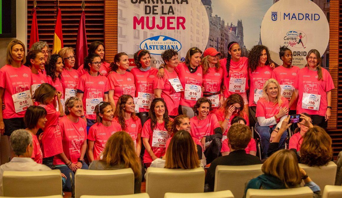 La Carrera de la Mujer de Madrid ha unido a los 21 distritos de la capital