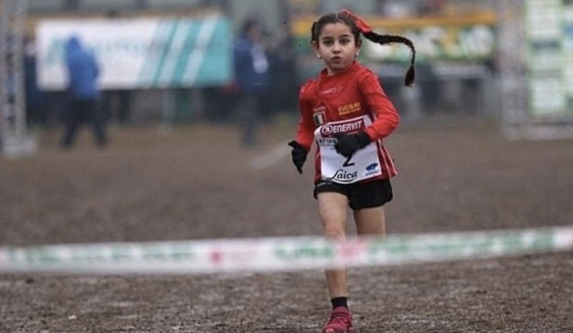 Una niña de 7 años corre 10 kilómetros en 44:44