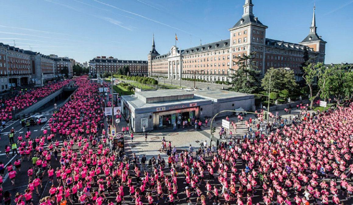 Una mujer de cada Junta de distrito llegará corriendo a la presentación de la Carrera de la Mujer de Madrid
