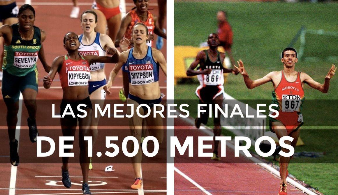 Las mejores finales de 1.500 m de la historia