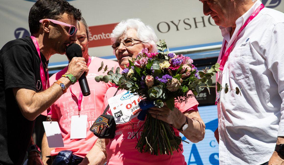 La Carrera de la Mujer con 91 años