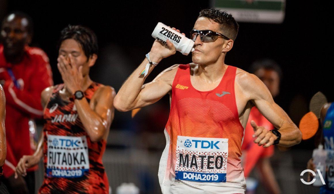 El maratón de Dani Mateo en Strava