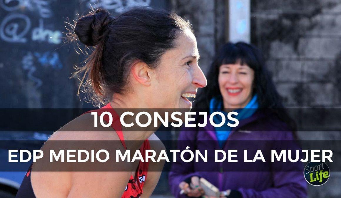 Elena Loyo nos da 10 consejos para el EDP Medio Maratón de la Mujer