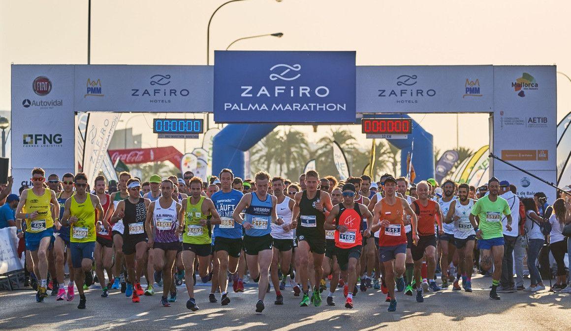 Los alemanes Silvia Felt y Nikki Johnstone son los ganadores del Zafiro Palma Marathon 2019