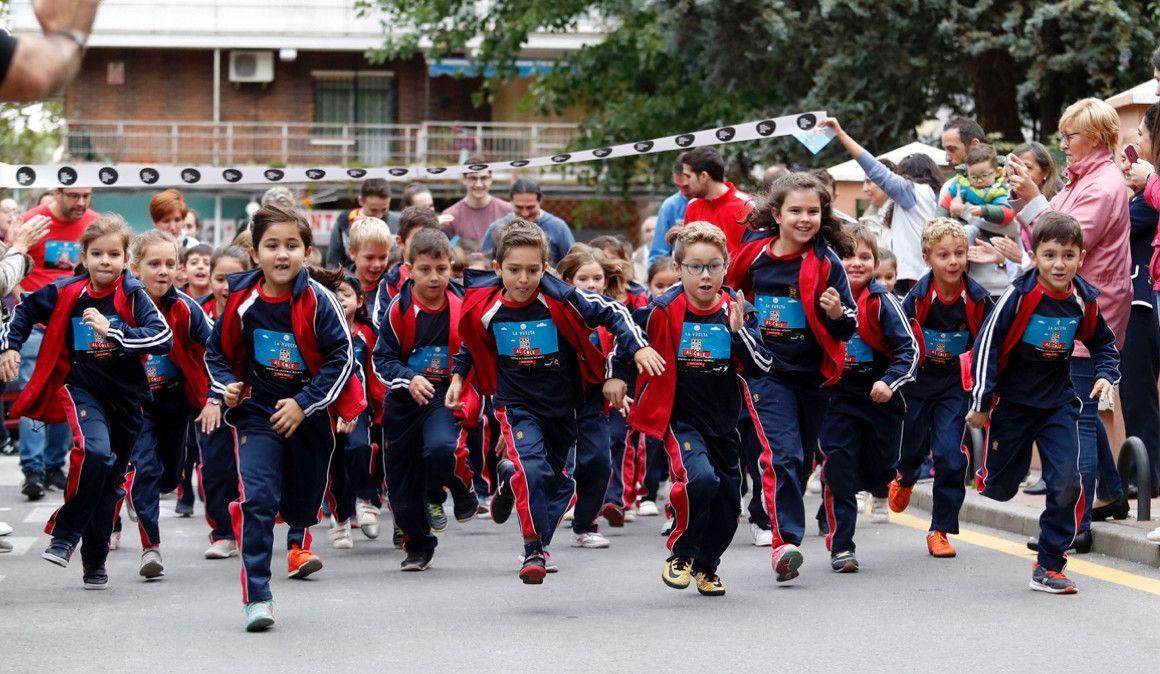 Centenares de colegios correrán contra la leucemia infantil