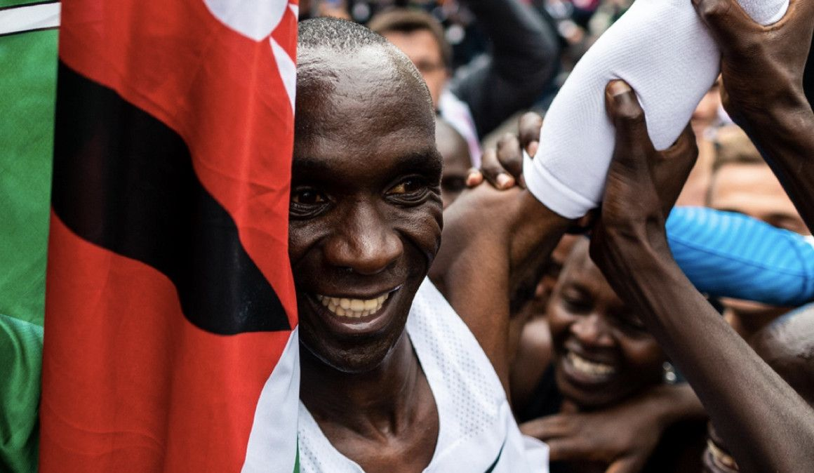 Eliud Kipchoge got me mad