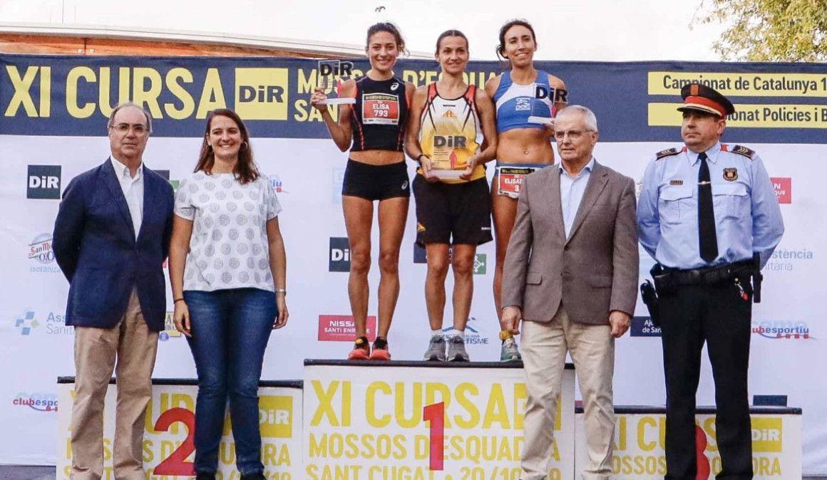 Mourad Mounim Naaman y Miriam Ortiz ganan la Cursa de los Mossos