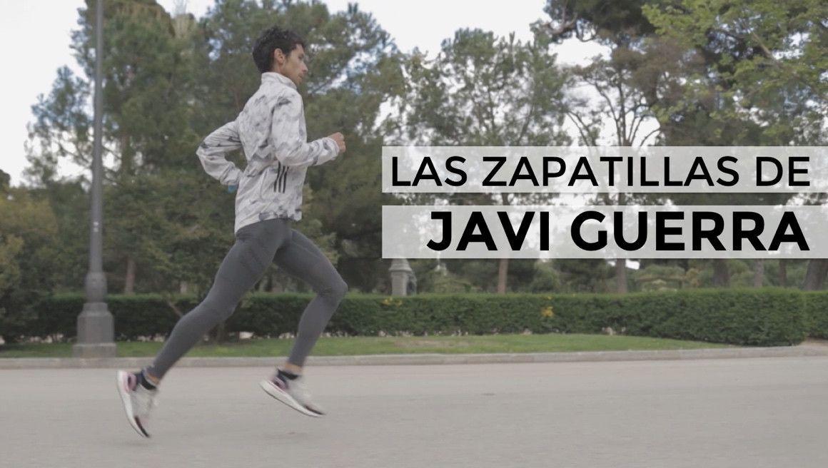 ¿Con qué zapas entrena y compite Javi Guerra?