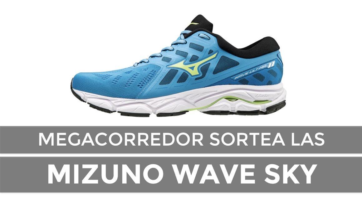 Gana las Mizuno Wave Sky 2 con MEGACORREDOR