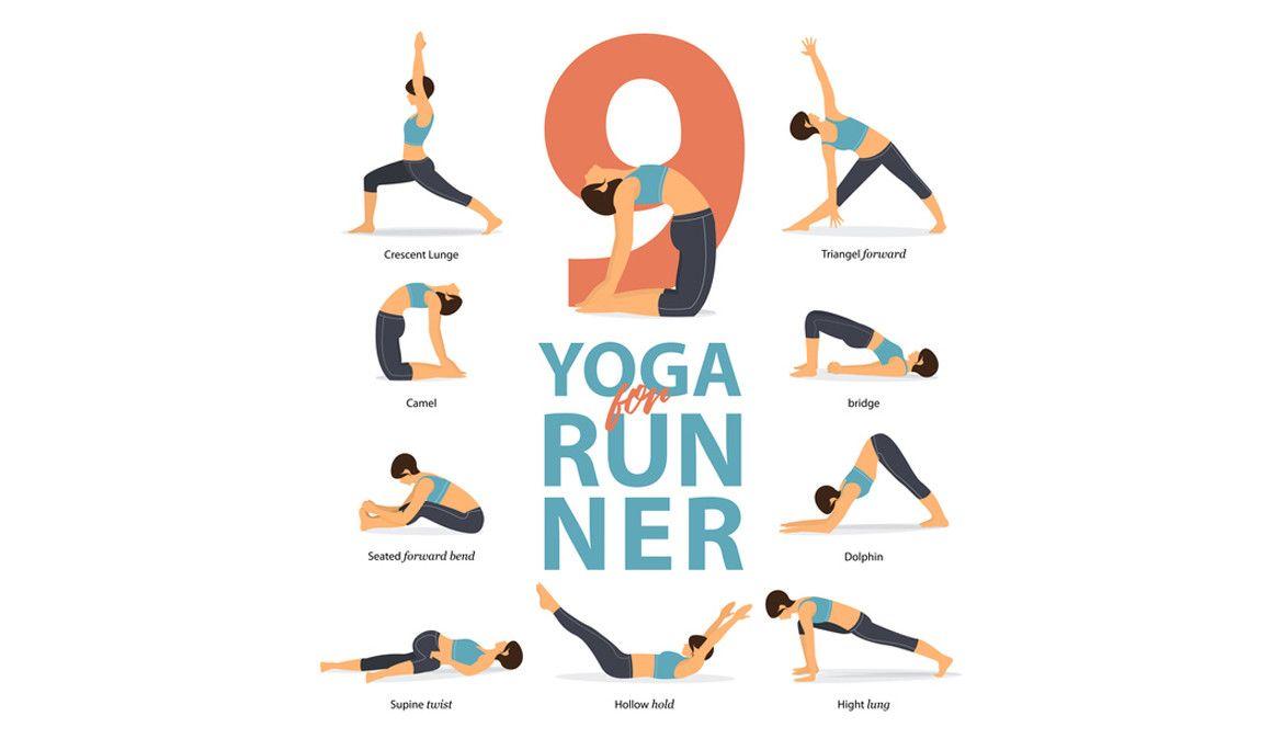 9 Posturas de Yoga para Corredores