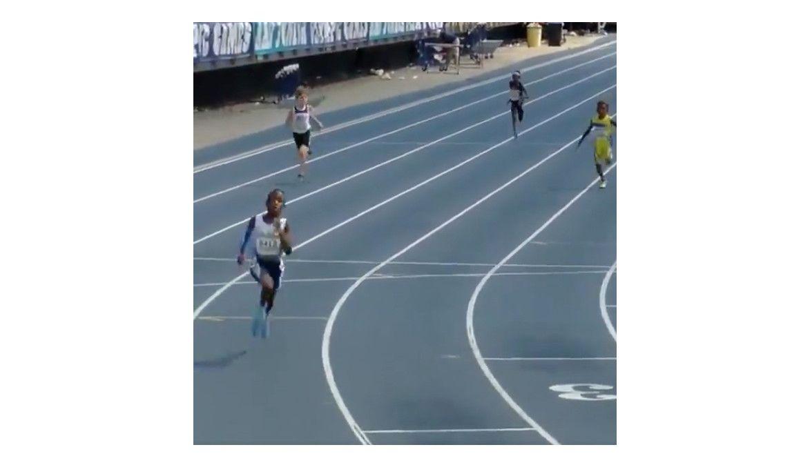62 segundos en 400 metros ¡CON 9 AÑOS!