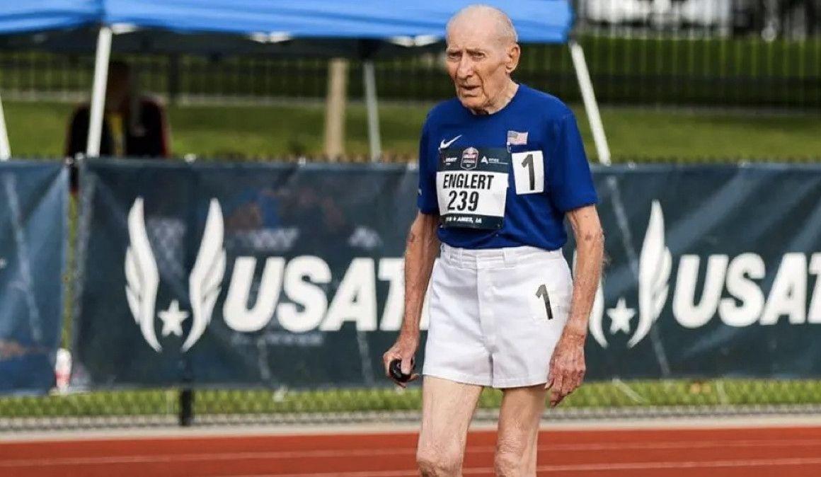 42:30 en 5.000 m con 96 años