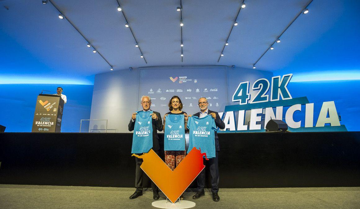 Así serán las camisetas del Maratón de Valencia 2019