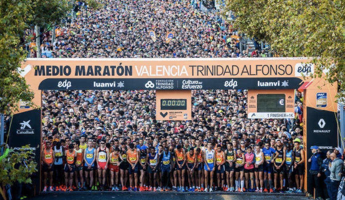 Agotados los dorsales del Medio Maratón de Valencia