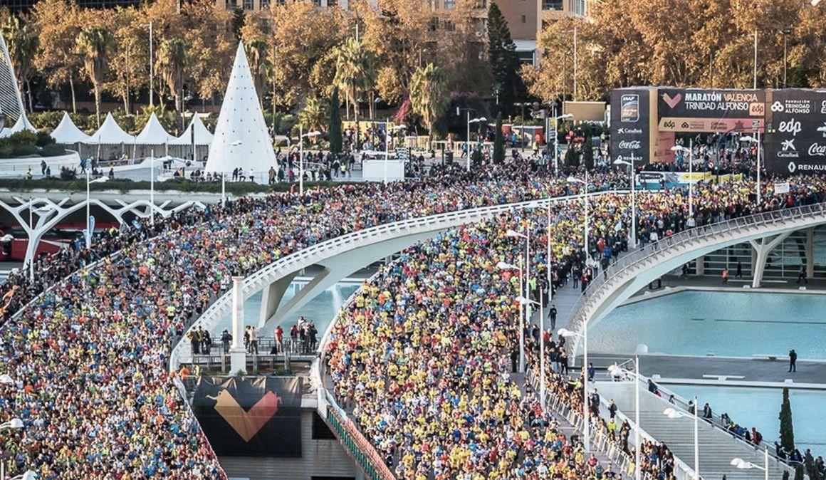 ¿Cuándo se acabarán los dorsales para el Maratón de Valencia?