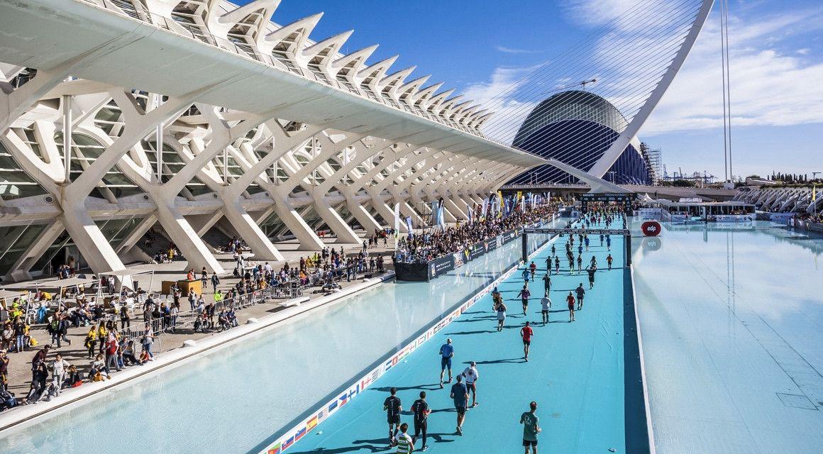 Última edición del 10K de Valencia paralelo al maratón
