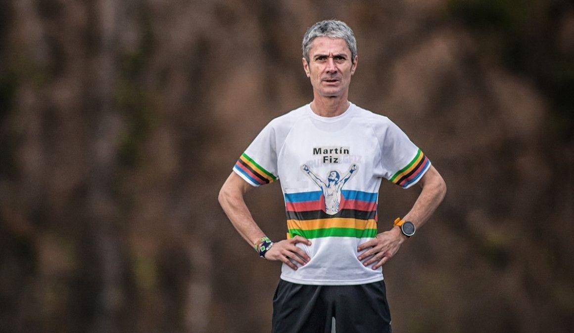 Martín Fiz, récord de España de 3.000 metros M55