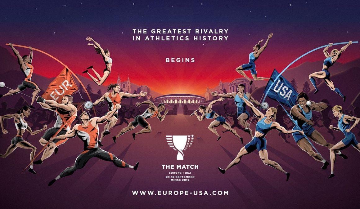 11 españoles en The Match, la Ryder Cup del atletismo