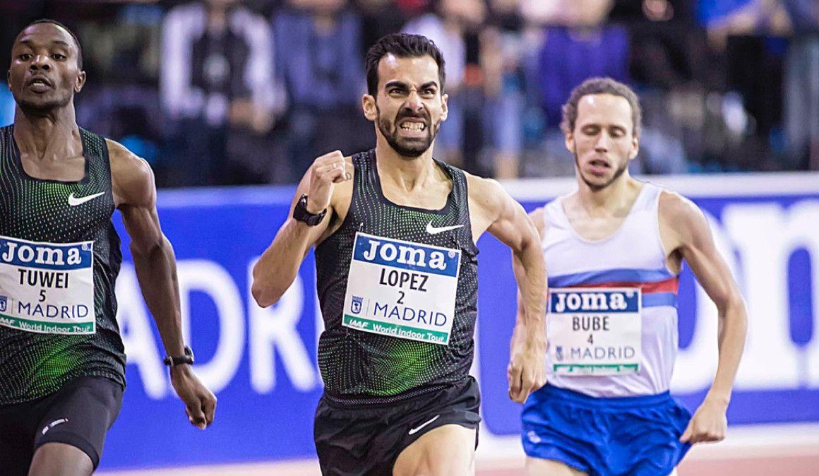 """Kevin López: """"He logrado lo que me faltaba para ser un atleta de 1.500"""""""