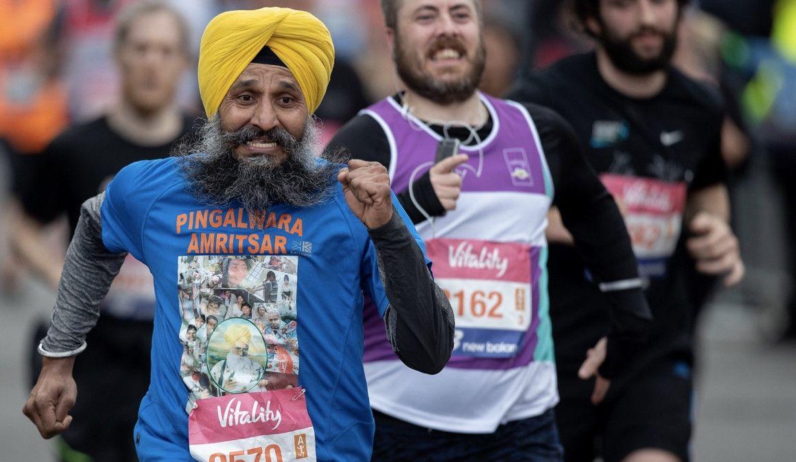Los dos medios maratones de Londres