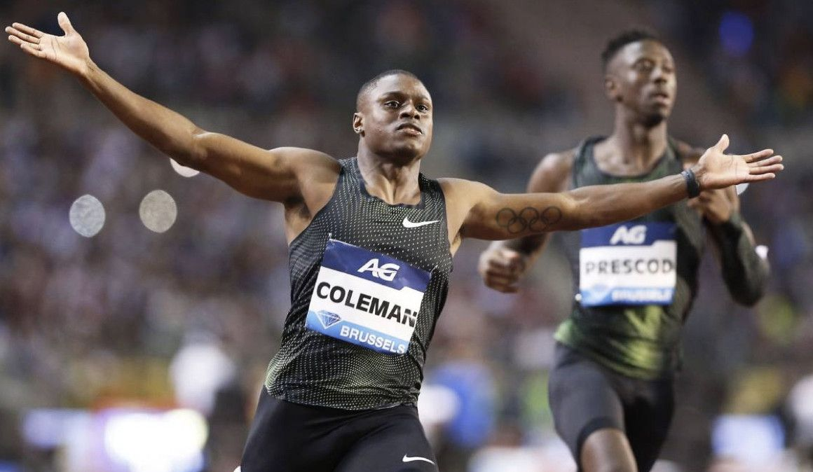 Coleman, sucesor de Bolt, acumula tres controles fallidos