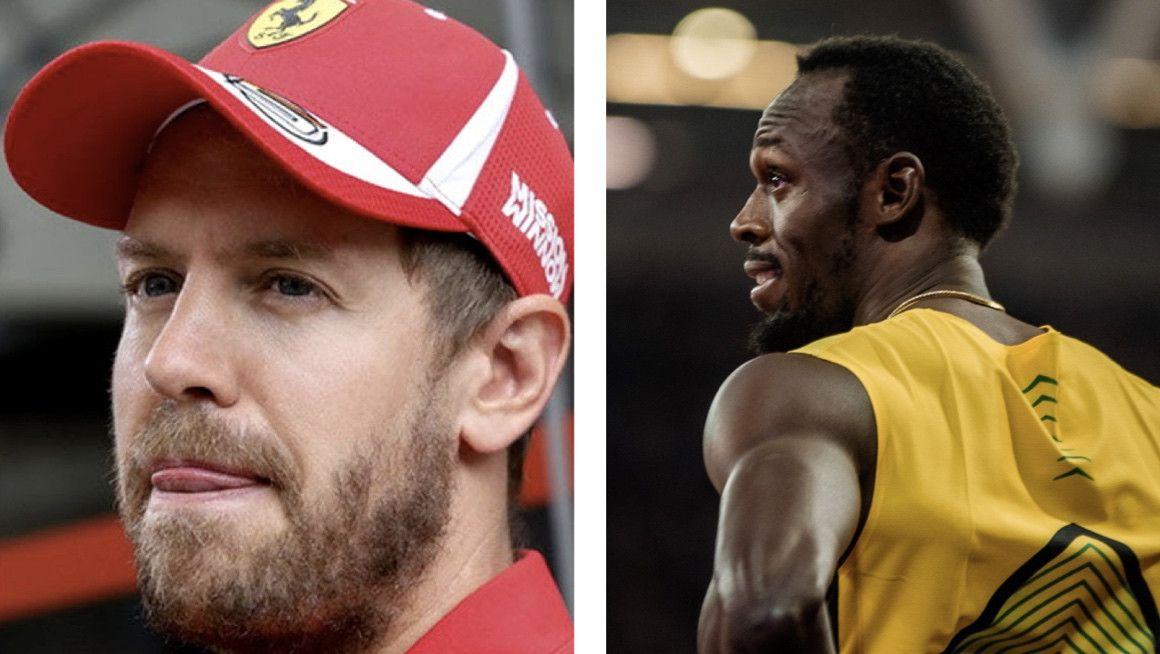 Usain Bolt contra Vettel, ¿quién sería el más rápido en Montmeló?