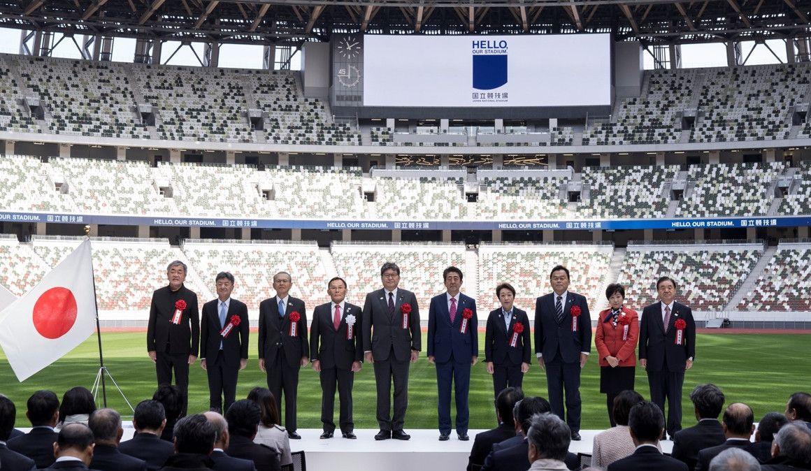 Inaugurado el Estadio Olímpico de Tokio 2020