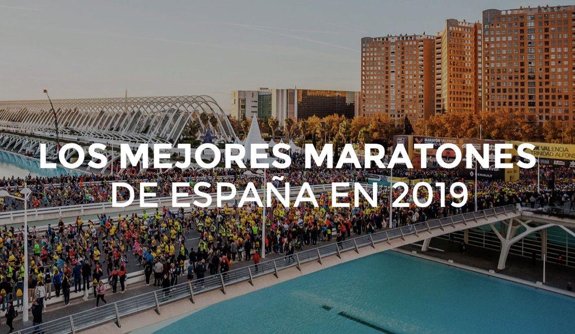 Los mejores maratones de España en 2019