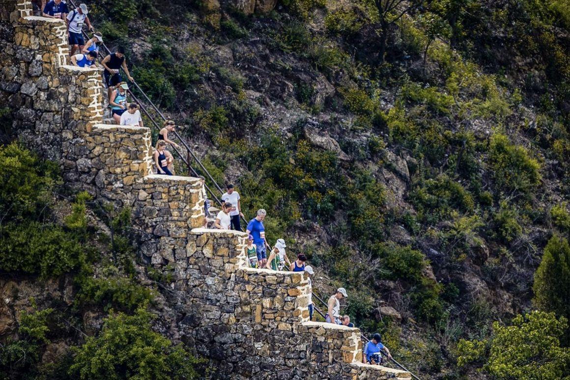 El Maratón de la Gran Muralla China