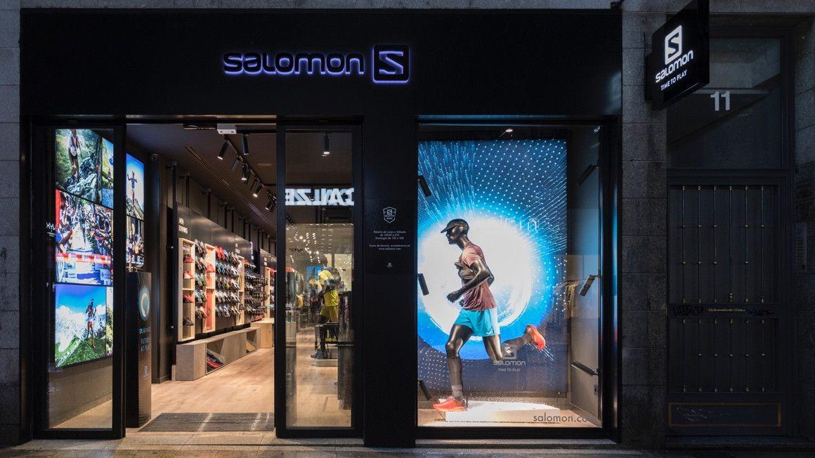 Salomon abre su primera brand store en España