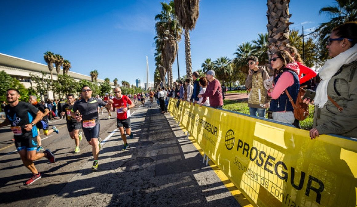 Prosegur seguirá colaborando en la seguridad del Medio Maratón y Maratón Valencia