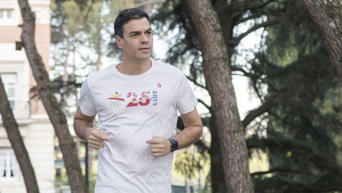 """Pedro Sánchez corre el domingo la """"Carrera contra la violencia de género"""""""